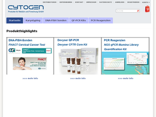 Screenshot of Cytogen