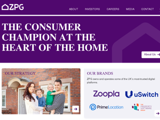 Zoopla Property Group PLC screenshot