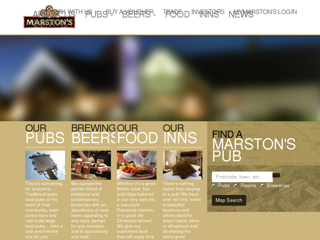 Marstons PLC screenshot